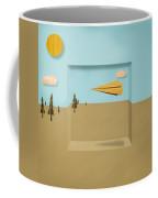 Paper Airplanes Of Wood 12 Coffee Mug