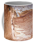 Paper Bark Background Coffee Mug