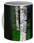 Paper Birch Trees Coffee Mug