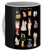 Paper Doll Amy Coffee Mug by Marilyn Smith