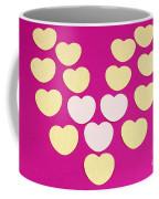 Paper Hearts Coffee Mug