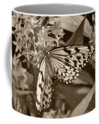 Paper Kite On Frangipani Flowers Coffee Mug