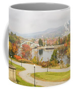 Paper Mill And Fall Colors In Rumford Maine Coffee Mug
