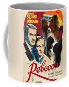 Papillon Art - Rebecca Movie Poster Coffee Mug