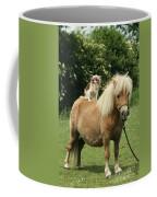 Papillon Riding Shetland Pony Coffee Mug