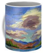 Papoose Lake And Clouds Coffee Mug