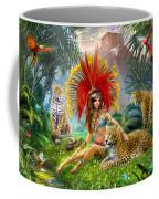 Paradise Bird Coffee Mug by Jan Patrik Krasny