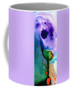Paradise Found - Colorful Abstract Painting Coffee Mug