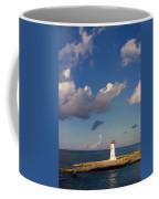 Paradise Island Lighthouse Coffee Mug by Stephanie McDowell