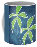 Paradise Palm Trees Coffee Mug by Linda Woods