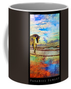 Paradise Sunset Coffee Mug by Betsy Knapp