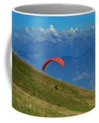 Paragliding In The Mountains Coffee Mug