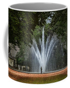 Parc De Bruxelles Fountain Coffee Mug