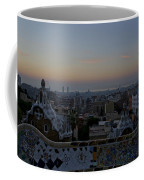 Parc Guell At Sunrise Coffee Mug