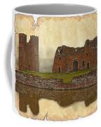 Parchment Texture Kirby Muxloe Castle Coffee Mug