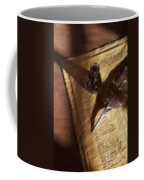 Parchment With Ink And Quill Pen Coffee Mug