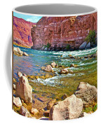 Pariah Riffle Near Lee's Ferry In Glen Canyon National Recreation Area-arizona Coffee Mug