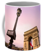 Paris - Arc De Triomphe  Coffee Mug
