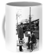 Paris Bird Vendors, 1900 Coffee Mug