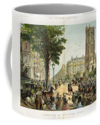 Paris Boulevard, 1859 Coffee Mug