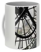 Paris Clock Coffee Mug
