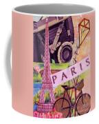 Paris  Coffee Mug by Eloise Schneider
