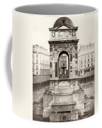 Paris Fountain, C1858 Coffee Mug