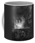 Paris, France Fire, 1773 Coffee Mug
