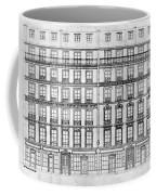 Paris Houses, 1841 Coffee Mug