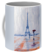 Paris In Rain Coffee Mug