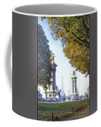 Paris In The Fall 1954 Coffee Mug by Chuck Staley