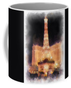 Paris Las Vegas Photo Art Coffee Mug