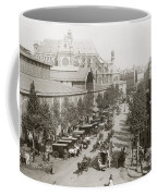 Paris: Les Halles, C1900 Coffee Mug