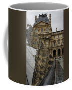Paris - Louvre Reflecting In The Pyramid  Coffee Mug