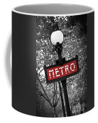 Paris Metro Coffee Mug by Elena Elisseeva