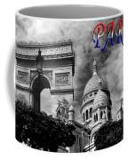 Paris Montage 2 Coffee Mug