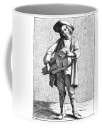 Paris Musician, C1740 Coffee Mug