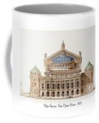 Paris Opera - 1875 Coffee Mug