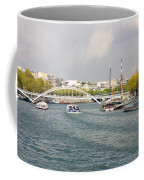 Paris River Cityscape Coffee Mug