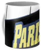 Paris Sign Coffee Mug