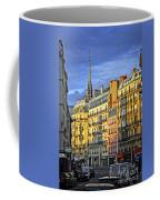 Paris Street At Sunset Coffee Mug by Elena Elisseeva