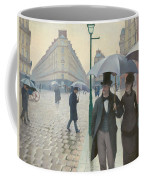Paris Street In Rainy Weather Coffee Mug