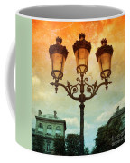 Paris Street Lamps With Textures And Colors Coffee Mug