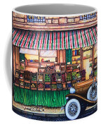 Paris Street Market Coffee Mug
