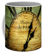 Paris Time Coffee Mug
