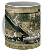 Paris Wall Coffee Mug