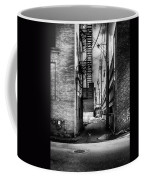 Park Alley Sunset Coffee Mug by Bob Orsillo