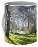 Park By Niagara Falls River Coffee Mug
