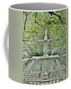 Forsyth Park Fountain - Savannah Georgia Coffee Mug