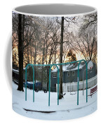 Park In Winter Coffee Mug